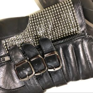 Bumper Shoes - Black moto boots